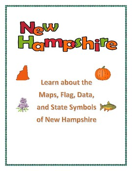 New Hampshire State Maps, Flag, Data, and Geography Assessment