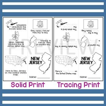 New Jersey State Mini-Book