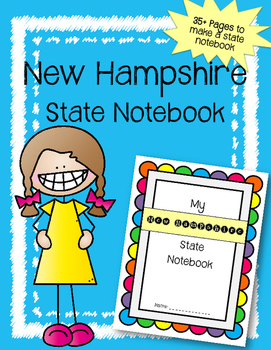 New Hampshire State Notebook. US History and Geography