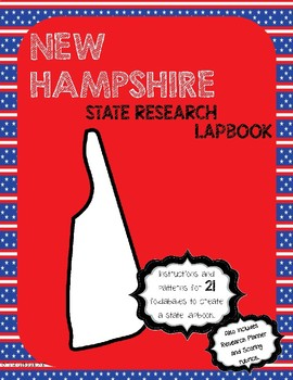New Hampshire State Research Lapbook Interactive Project