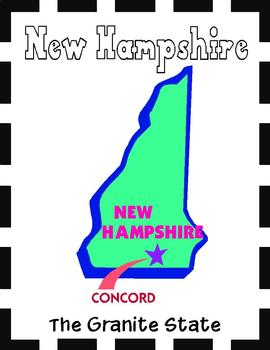 New Hampshire State Symbols and Research Packet