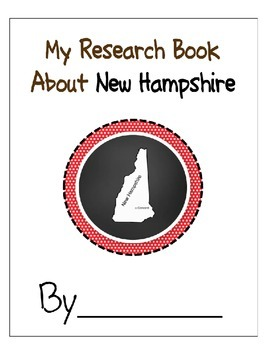 New Hampshire Student Research Book