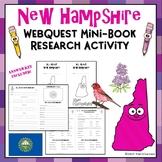 New Hampshire Webquest Common Core Research Mini Book