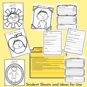 Parent Teacher Conference Home & School Communication Forms & More