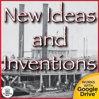 New Ideas and Inventions Interactive Notebook