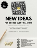 New Ideas for School Events - a Planning eBook