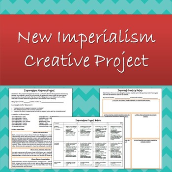 New Imperialism Tri-Fold Museum Project for World History