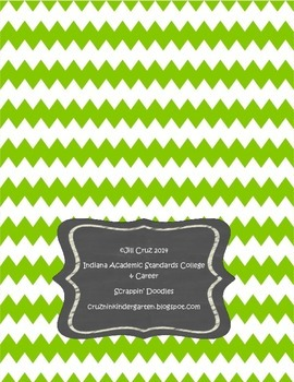 New Indiana Academic Standards 4th Grade back cover