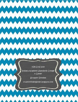 New Indiana Academic Standards 5th Grade back cover
