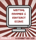Compare and contrast essay: Informational writing PDF & Distance Learning