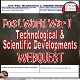 New Innovations Post World War II America Web Quest