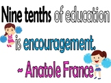 New Inspirational Quotes for Students and Teachers (in English)