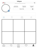 New Instagram Profile Template in PDF in Spanish