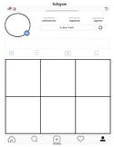 New Instagram Profile Template in PDF in Spanish