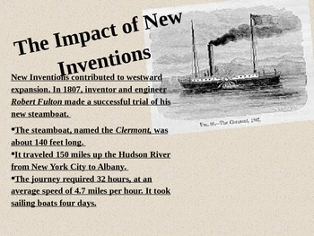 New Inventions UNIT  4th Social Studies