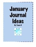 New January Journal Idea Cards