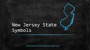 New Jersery State Symbols Powerpoint and Small Book
