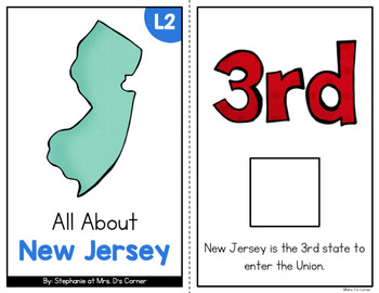 New Jersey Adapted Books (Level 1 and Level 2)   New Jersey State Symbols
