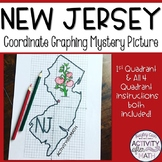 New Jersey Coordinate Graphing Mystery Picture 1st Quadran