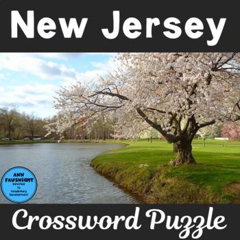 New Jersey Crossword Puzzle