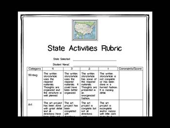 New Jersey Differentiated State Activities