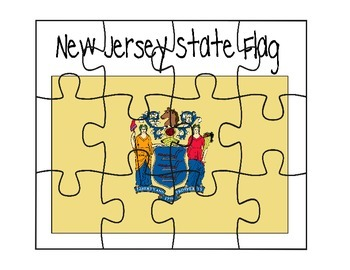 New Jersey Flag Puzzle
