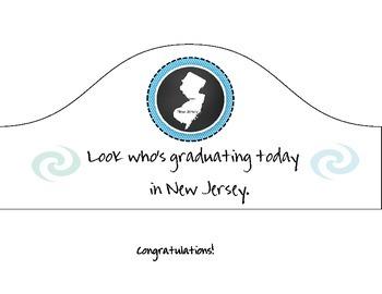 New Jersey Graduation Hat