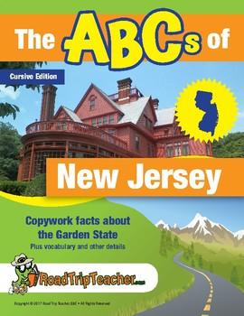 New Jersey Handwriting Printables - Cursive Edition