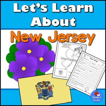 New Jersey History and Symbols Unit Study