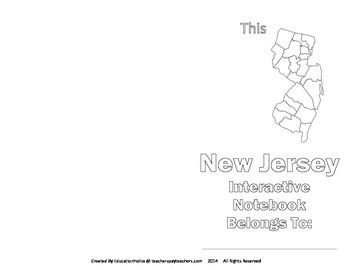 New Jersey Interactive Notebook