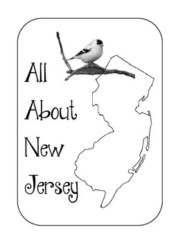 New Jersey State Lapbook/Interactive Notebook.  US State History.  Geography