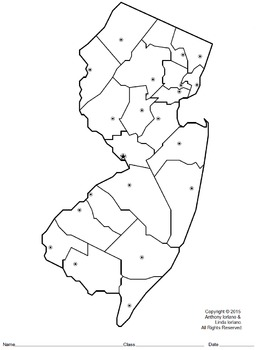New Jersey Map Mystery Picture