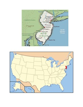 New Jersey Map Scavenger Hunt