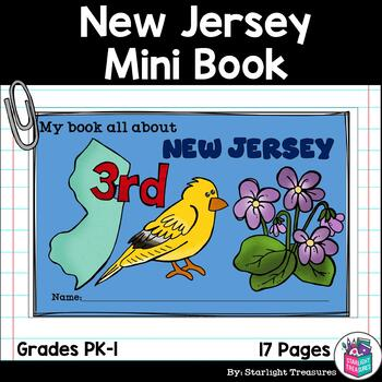 New Jersey Mini Book for Early Readers - A State Study
