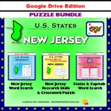 New Jersey Puzzle BUNDLE - Word Search & Crossword Puzzle - U.S States - Google