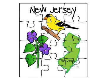 New Jersey Puzzle Set