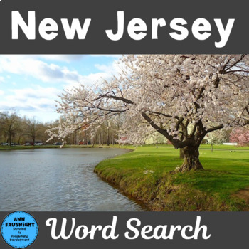 New Jersey Word Search