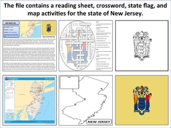 New Jersey - State Activity Set