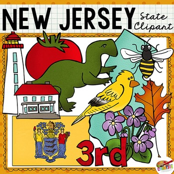 New Jersey State Clip Art