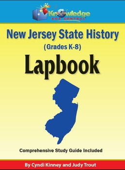 New Jersey State History Lapbook