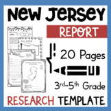 New Jersey State Research Report Project Template + bonus