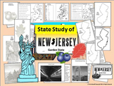 New Jersey State Study, Interactive Notebook & Bulletin Board Display