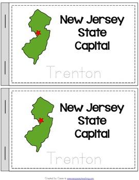 New Jersey State Symbols Notebook