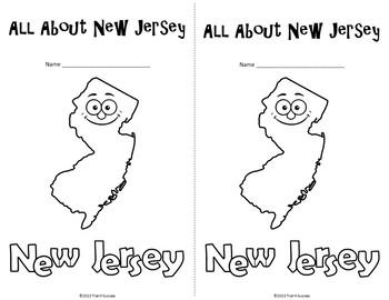 New Jersey Webquest Common Core Reading Research Mini Book