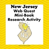New Jersey Webquest Common Core Reading Research Mini Book