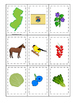 New Jersey themed Memory Matching and Word Matching preschool curriculum game