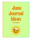 New June Journal Idea Cards