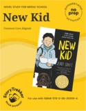 New Kid - A No-Prep Graphic Novel Study (Distance Learning)