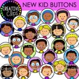 New Kid Buttons Clipart (Kids Clipart)