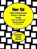 New Kid--Guided Reading Questions and More!